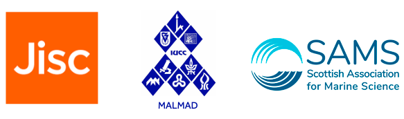 Jisc, MALMAD and SAMS logos